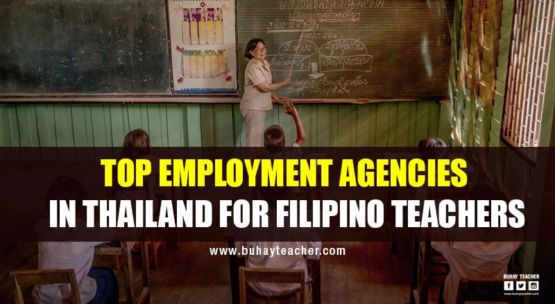 Top Employment Agencies in Thailand for Filipino Teachers